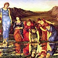The Mirror Of Venus 1875 by BurneJones Edward