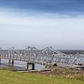 The Natchez Vidalia Bridge by Susan Rissi Tregoning