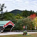 The New Hampshire Jackson Covered Bridge by Jeff Folger