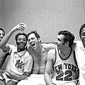 The New York Knicks Starting Five -- by New York Daily News Archive