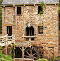 The Old Mill In North Little Rock Arkansas by Gregory Ballos
