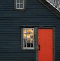 The Orange Door by Rein Nomm