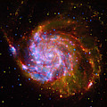 The Pinwheel Galaxy Composite by Paul W Faust - Impressions of Light