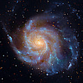 The Pinwheel Galaxy by Paul W Faust - Impressions of Light