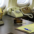 The Presidential Desk On Air Force One by Colleen Cornelius