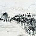 The Races by Edouard Manet