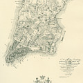 The Ratzer Map Of The City Of New York, 1767 by Bernard Ratzer