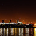 The Rms Queen Mary by Gene Parks
