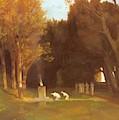 The Sacred Grove 1886 by Bocklin Arnold