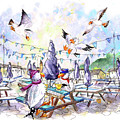 The Seagulls Of Porthleven 05 by Miki De Goodaboom