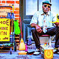 The Shoe Shine Man by Dominic Piperata