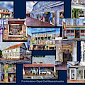 The Shops Of Provincetown Cape Cod Massachusetts Collage Pa by Thomas Woolworth