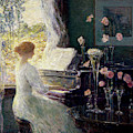 The Sonata, 1911  by Childe Frederick Hassam
