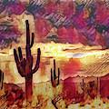 The Sonoran Saguaro  by Saija Lehtonen