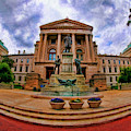 The State House Indianapolis Indiana by Blake Richards