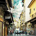The Streets Of Florence by John Rizzuto