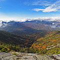 The Summit Of Giant Mountain Parnorama Adirondacks Upstate New York by Toby McGuire