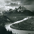 The Tetons - Snake River by Archive Photos