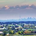 The Toronto Skyline by Jim Lepard