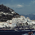 The Town Of Amalfi by Slim Aarons