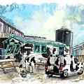 The Treleague Dairy On Lizard Peninsula by Miki De Goodaboom