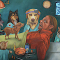 The Vet's Worst Nightmare by Leah Saulnier The Painting Maniac