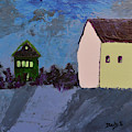 The Village At Night by Donna Blackhall