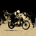 The Vintage Motorcycle Racer by Mark Rogan