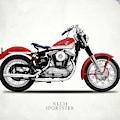The Vintage Sportster Motorcycle by Mark Rogan
