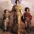 The Virgin 1893 by Abbott Handerson Thayer