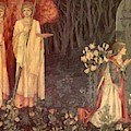 The Vision Of The Holy Grail To Sir Galahad Sir Bors And Sir Perceval by BurneJones Edward
