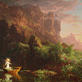 The Voyage Of Life Childhood, 1842 by Thomas Cole