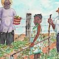 The Washington's - Our Neighbors On The Farm by Philip Bracco