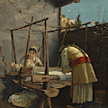 The Weavers, Arachova by Theodoros Rallis