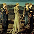 The Wedding Of Psyche 1895 by BurneJones Edward