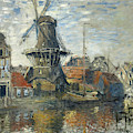 The Windmill, Amsterdam, 1871 by Claude Monet
