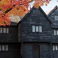 The Witch House Of Salem Massachusetts by Jeff Folger