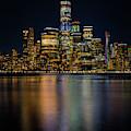 The World Trade Center At Night by Kristen Wilkinson
