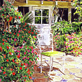 The Yellow Patio Chair by David Lloyd Glover