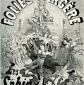 Theatre Des Folies-begere Vintage Poster by French School