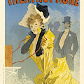 Theatrophone Vintage French Advertising by Vintage French Advertising
