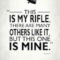 This Is My Rifle by Mark Rogan