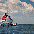 Thomas Point Shoal Lighthouse by Jill Love