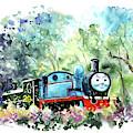 Thomas The Tank Engine In Buckfastleigh by Miki De Goodaboom