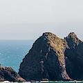 Three Arch Rocks Panorama by Robert Potts