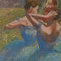 Three Dancers, Circa 1897 by Edgar Degas