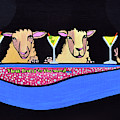 Three Sheeps To The Wind  by Davids Digits