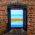 Through An Armory Window, Dry Tortugas by Kay Brewer
