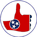 Thumbs Up Tennessee by Bigalbaloo Stock