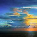 Thunder At Sun Set by Max Huber